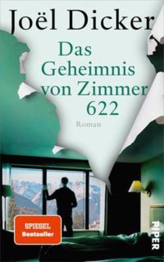 Buchcover Das Geheimnis von Zimmer 622 Joël Dicker