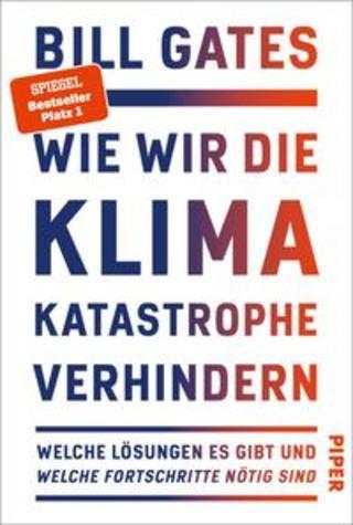 Buchcover Wie wir die Klimakatastrophe verhindern Bill Gates