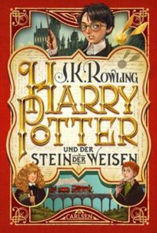 Buchcover Harry Potter und der Stein der Weisen (Harry Potter 1) J.K. Rowling