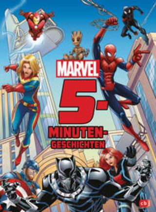 Buchcover Marvel 5-Minuten-Geschichten Diverse