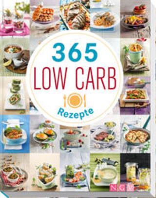 Buchcover 365 Low-Carb-Rezepte