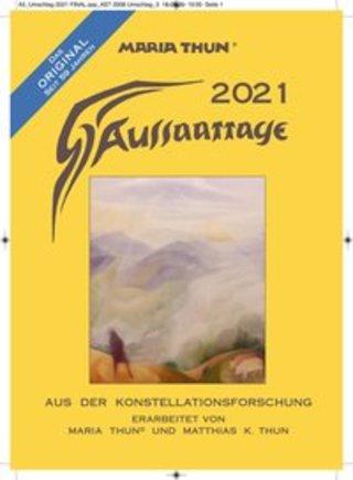 Buchcover Aussaattage 2021 Maria Thun Matthias K. Thun