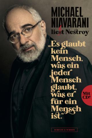 Buchcover Niavarani liest Nestroy Michael Niavarani