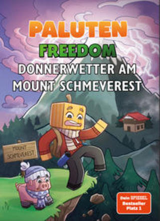 Buchcover Donnerwetter am Mount Schmeverest Paluten