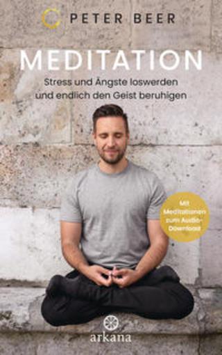 Buchcover Meditation Peter Beer