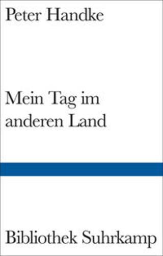 Buchcover Mein Tag im anderen Land Peter Handke