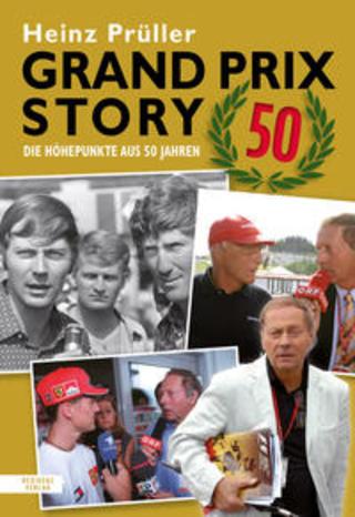 Buchcover Grand Prix Story 50 Heinz Prüller