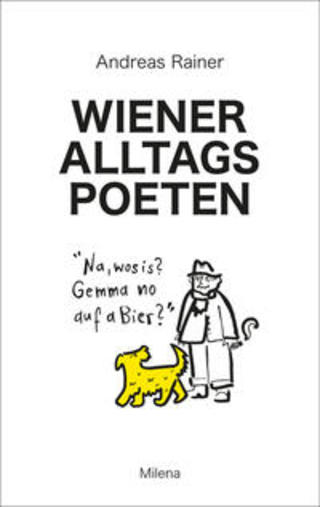 Buchcover Wiener Alltagspoeten Andreas Rainer