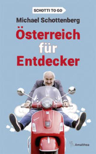 Buchcover Österreich für Entdecker Michael Schottenberg
