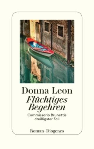 Buchcover Flüchtiges Begehren Donna Leon