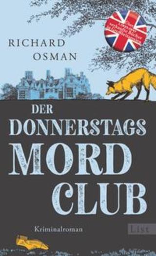 Buchcover Der Donnerstagsmordclub Richard Osman