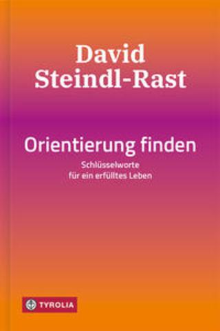 Buchcover Orientierung finden David Steindl-Rast