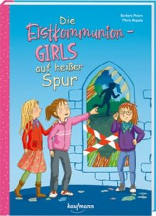Buchcover Die Erstkommunion-Girls auf heißer Spur Barbara Peters