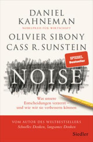 Buchcover Noise Daniel Kahneman