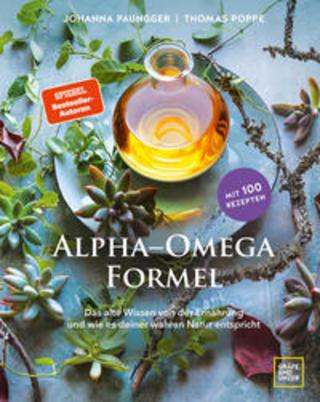 Buchcover Alpha-Omega-Formel Johanna Paungger