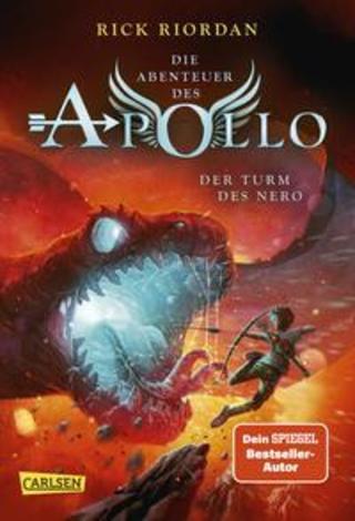 Buchcover Die Abenteuer des Apollo 5: Der Turm des Nero Rick Riordan
