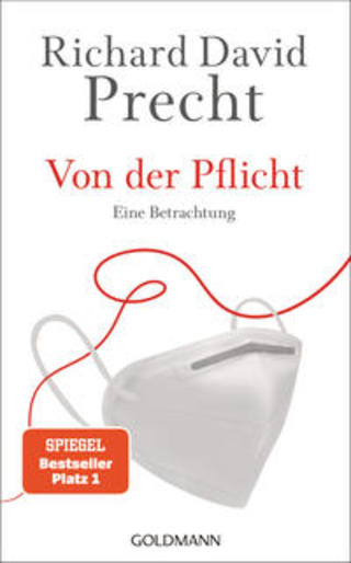Buchcover Von der Pflicht Richard David Precht