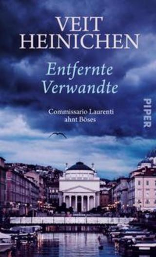 Buchcover Entfernte Verwandte Veit Heinichen