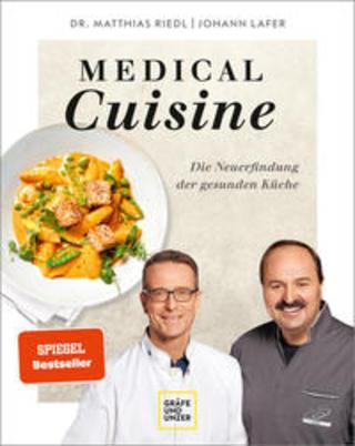 Buchcover Medical Cuisine Johann Lafer