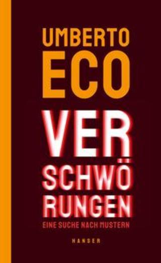 Buchcover Verschwörungen Umberto Eco