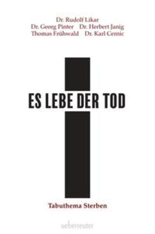 Buchcover Es lebe der Tod Rudolf Likar