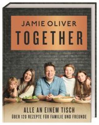 Buchcover Together - Alle an einem Tisch Jamie Oliver
